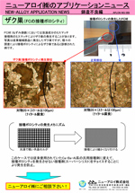 アプリケーションニュース (NG-005 FCのザク巣(接種ポロシテイ))